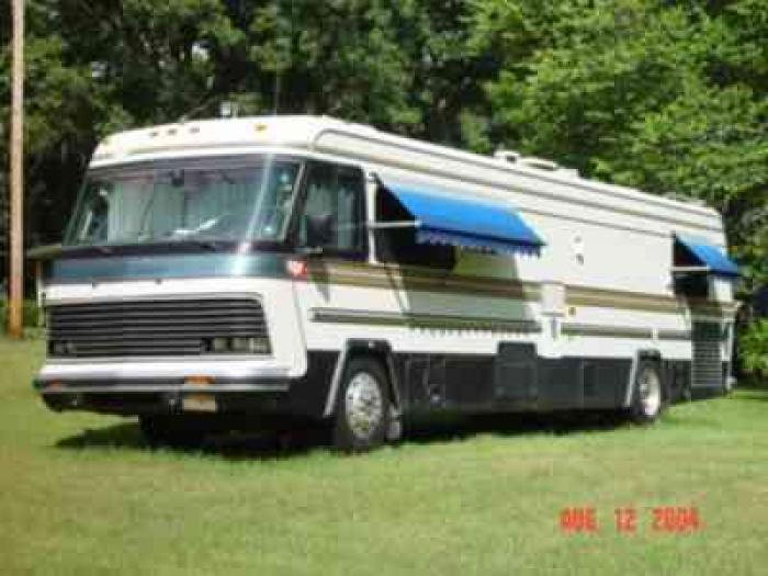 Recreational Vehicles Class A Motorhomes 1987 Holiday