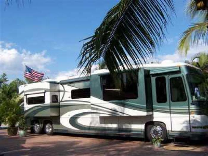 Recreational vehicles diesel pusher motorhomes 2005 newell for Florida department of motor vehicles naples fl
