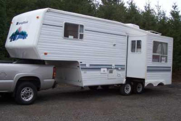 Recreational Vehicles Fifth Wheel Trailers 1998 Sunnybrook
