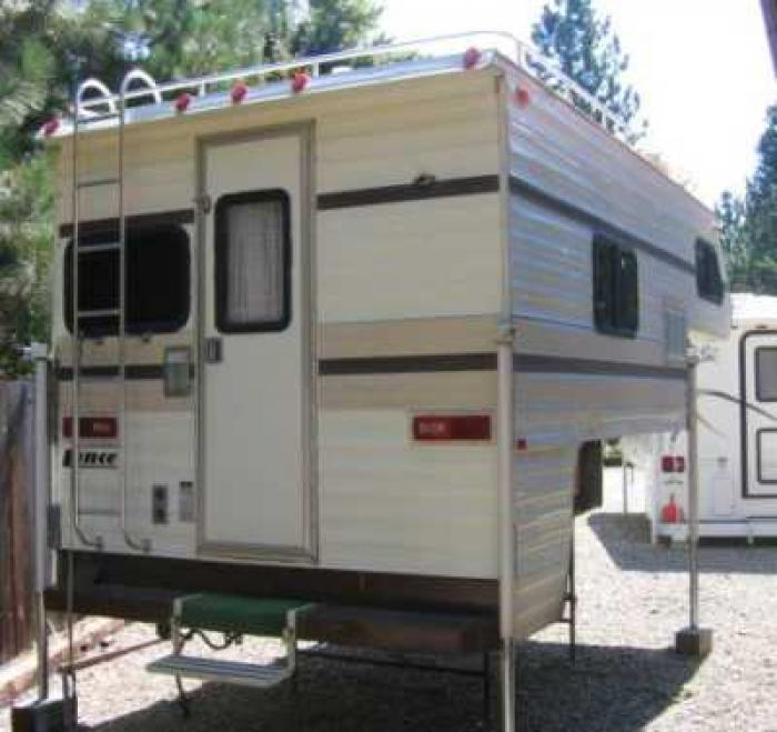THIS ITEM HAS BEEN SOLD...Recreational Vehicles Truck Campers 1980 Lance 580 Located In Quincy ...