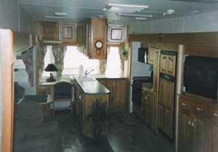 Recreational Vehicles Fifth Wheel Trailers 2002 Peterson