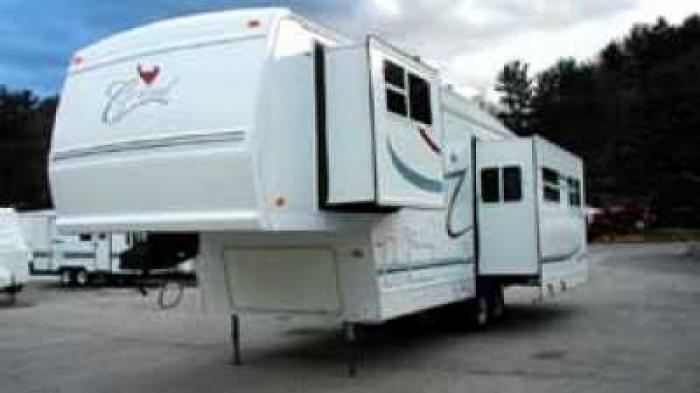 Recreational Vehicles Fifth Wheel Trailers 2001 Forest