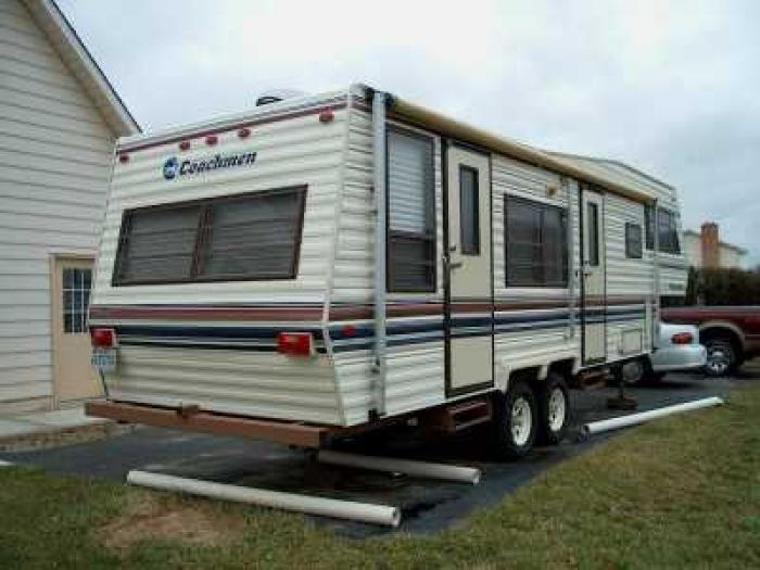 Recreational Vehicles Fifth Wheel Trailers 1987 Coachman Coyentry