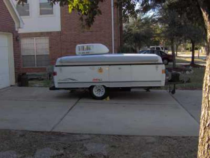 Recreational Vehicles Tent Trailers 2003 Coleman Carmel