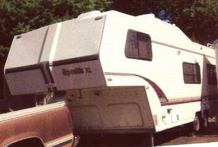 Recreational Vehicles Fifth Wheel Trailers 1994 Alpenlite