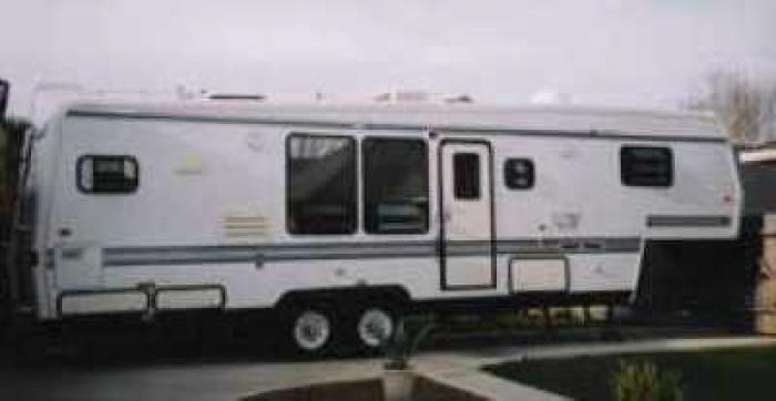 Recreational Vehicles Fifth Wheel Trailers 1994 Travel