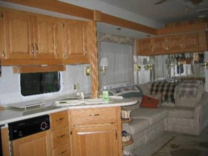 Recreational Vehicles Fifth Wheel Trailers 1998 Teton