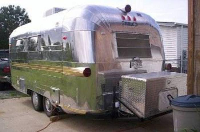 Recreational Vehicles Travel Trailers 1966 Streamline Airstream Prince  Located In Greenville  North Carolina   RV Clearinghouse. Recreational Vehicles Travel Trailers 1966 Streamline Airstream