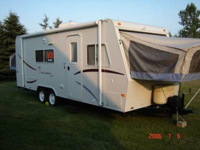 Simple Youll Love This 2002 Jayco Kiwi 22U! This 23 Travel Trailer Can Sleep 0 People And Has 0 Slide Outs Its Dimensions Are 0 Ft Heightinches Inches Tall By 7 Ft 6 Wide It Has Tank Capacities Of 36 Gallons Of Fresh Water, 30 Gallons Of Gray Water,