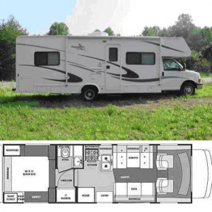 Recreational Vehicles Class C Motorhomes 2005 Forest River
