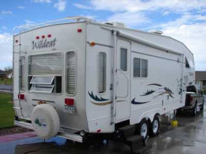 Recreational Vehicles Fifth Wheel Trailers 2003 Forest
