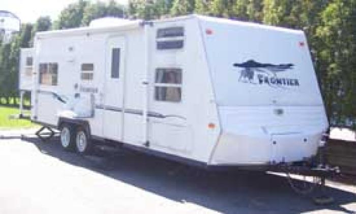 Recreational Vehicles Travel Trailers 2003 K Z Frontier