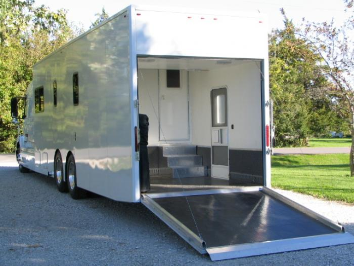 Motorhome garage - Garage for rv model ...