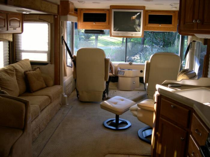 recreational vehicles class a motorhomes 2005 damon 377. Black Bedroom Furniture Sets. Home Design Ideas