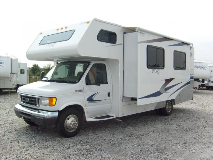 Recreational Vehicles Class C Motorhomes 2008 Safari Ivory