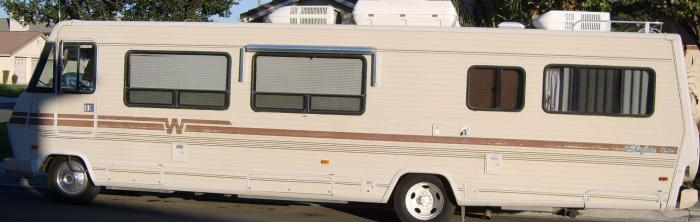 Recreational Vehicles Class C Motorhomes 1985 Winnebago