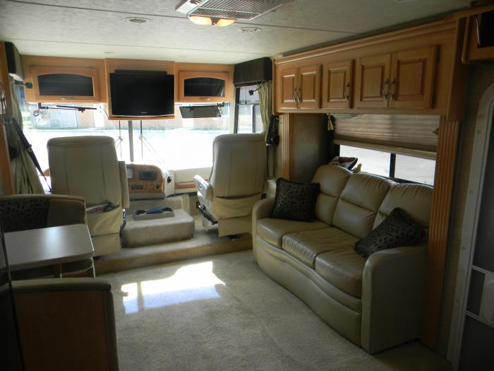 Recreational Vehicles Class A Motorhomes 2008 Four Winds